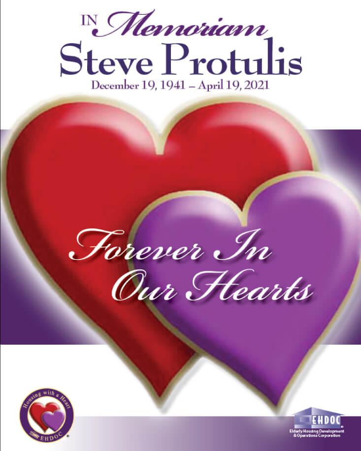 Flibbook cover in memoriam Steve Protulis